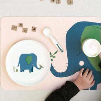 Kindergeschirr Set 5 Teilig Emma Kids Elefant 13 324x324
