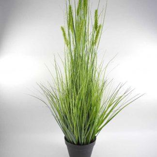 Kunstblume GRAS MIT DOLDEN H 114 cm