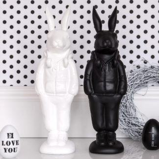 Osterhase RABBIT MR. JOE GiftCompany weiss H 49,5 | 30,0 cm