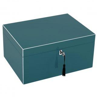 Schmuckkästchen Schmuckbox TANG GiftCompany dynasty green B 31 cm