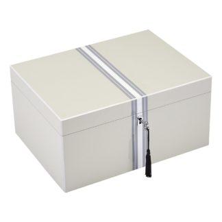 Schmuckk Stchen Schmuckbox Tang Giftcompany Lack Streifen Flannel B 31 Cm 324x324