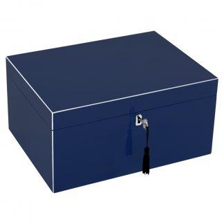 Schmuckkästchen Schmuckbox TANG GiftCompany windsor blue B 31 cm