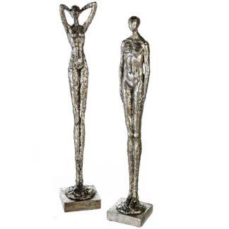 Skulptur Paar MILLENIUM Casablanca H 60 cm