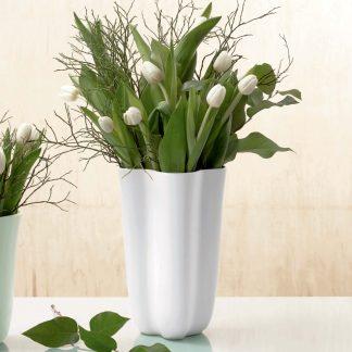Vase BLOSSOM ASA weiß matt H 28,5 cm