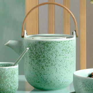 Teekanne COPPA MINTO ASA mit Edelstahlfilter 1 l