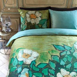 Beddinghouse Bettwäsche Van Gogh Museum WILD ROSES GREEN 135x200 cm