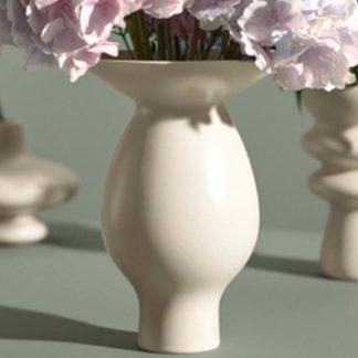 Vase KONTUR Kähler weiß H 25 cm