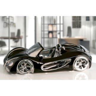 Auto CABRIO Casablanca schwarz/silber L 31,5 cm