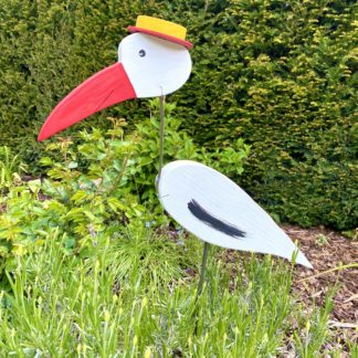 Gartenstecker STORCH ADI Vogelvilla H 60 cm