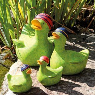 Dekofiguren Paar Badeenten RESI & Lieschen Casablanca