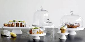 Tortenplatte & Glasglocke