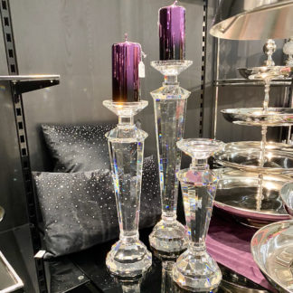 Kerzenständer ALTO Kaheku Kristallglas H 40 | 50 cm