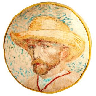 Kissen Beddinghouse Van Gogh Museum SELF PORTRAIT NATURAL ø 40 cm