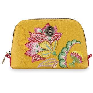 Kosmetiktasche PIP Studio JAMBO FLOWER gelb 19 cm