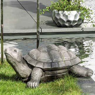 Figur Schildkröte TURTLE Casablanca H 27 cm