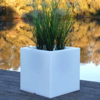 Gartenleuchte ANNA LED Pflanzkübel H 40 cm