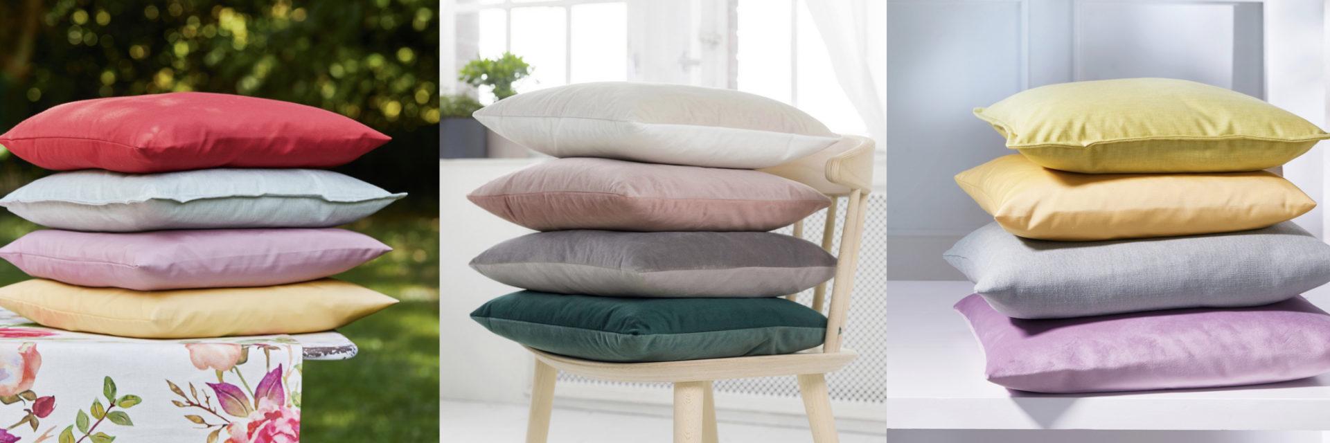 Unikissen & einfarbige Kissen