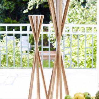 Fackel Edzard TARENT mit Kerzenfüllung H 101 | 125 cm
