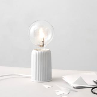 Tischlampe LYNGBY Fitting Porzellan H 10,7 cm