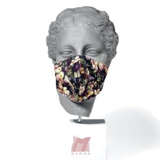 Mundschutzmaske Magma Fashion BLUMENBOUQUET Größe L