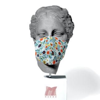Maske Magma Fashion BLUMENWIESE Größe L
