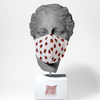 Mundschutzmaske Magma Fashion MARIENKÄFER Größe S | L
