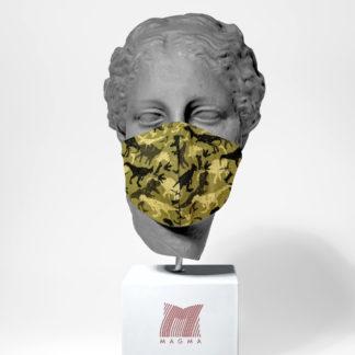 Mundschutzmaske Magma Fashion DINO Größe S