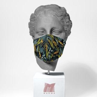 Mundschutzmaske Magma Fashion DSCHUNGEL Größe L
