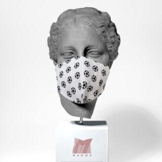 Mundschutzmaske Magma Fashion Fussball Größe S | L