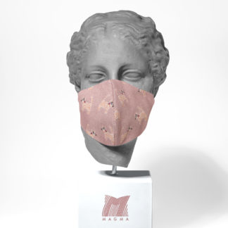 Mundschutzmaske Magma Fashion MIAU Größe S | L