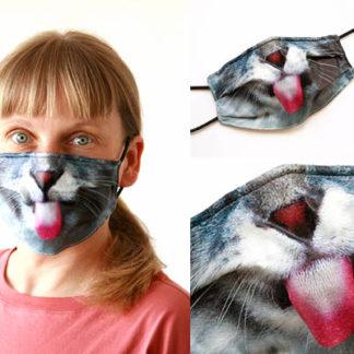 Mundschutzmaske Design KATZE