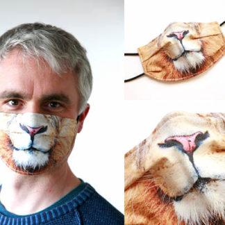 Mundschutzmaske Design LÖWE