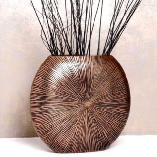 Bodenvase Ashley bronze H 50 cm