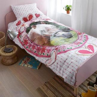 Kinderbettwäsche 135x200 cm FAVORITES pink Beddinghouse Kids