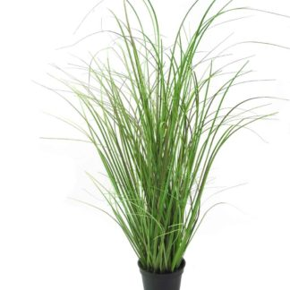 Kunstblume ZWIEBELGRAS mauve grün H 58 cm