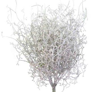 Kunstblume GRASBUSCH braun grün H 35 cm