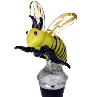 Flaschenverschluss BIENE Edzard Murano-Glas H 13 cm