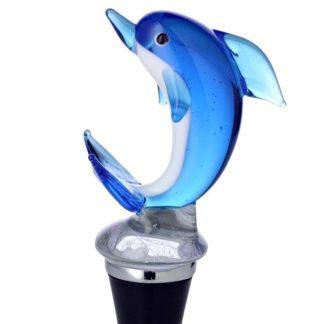 Flaschenverschluss DELFIN Edzard Murano-Glas H 12 cm