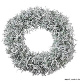 Kunstblume SEIDE MAGNOLIENZWEIG geeist H 103 cm