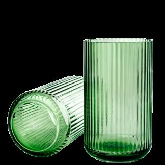 Vase Lyngby Glas copenhagen green H 26 cm