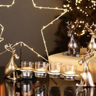 Kerzenständer | Teelichthalter HANK Casablanca Länge 45 cm