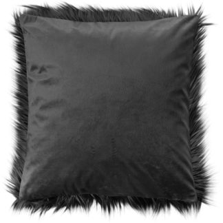Kissen Magma LUXURY PILE anthrazit 45 x 45 cm