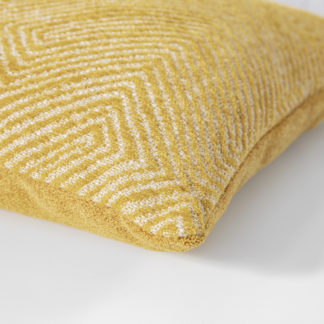 Kissen Magma OSCAR gelb 50 x 50 cm