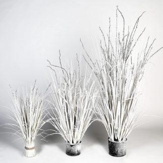 Kunstpflanze SNOWY beschneit H 100 cm