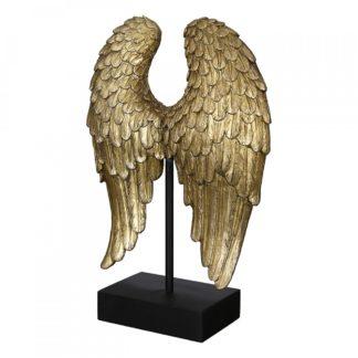 Skulptur WING Casablanca gold H 30 cm