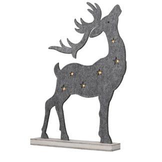 Weihnachtsdeko Engel HOMELY Filz H 82 cm