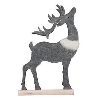 Weihnachtsdeko EnWeihnachtsdeko Rentier MIKA H 42 | 32 cm