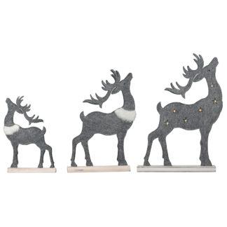 Weihnachtsdeko Rentier MIKA H 42 | 32 cm