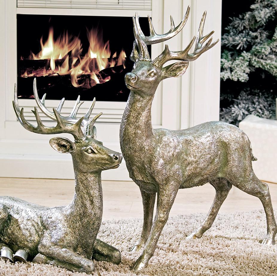 Weihnachtsdeko Hirsch