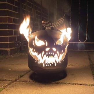 Halloween Kürbis Deko für draußen